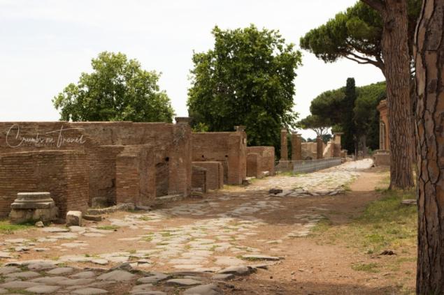 Street, Ostia Antica, Lazio/Italy