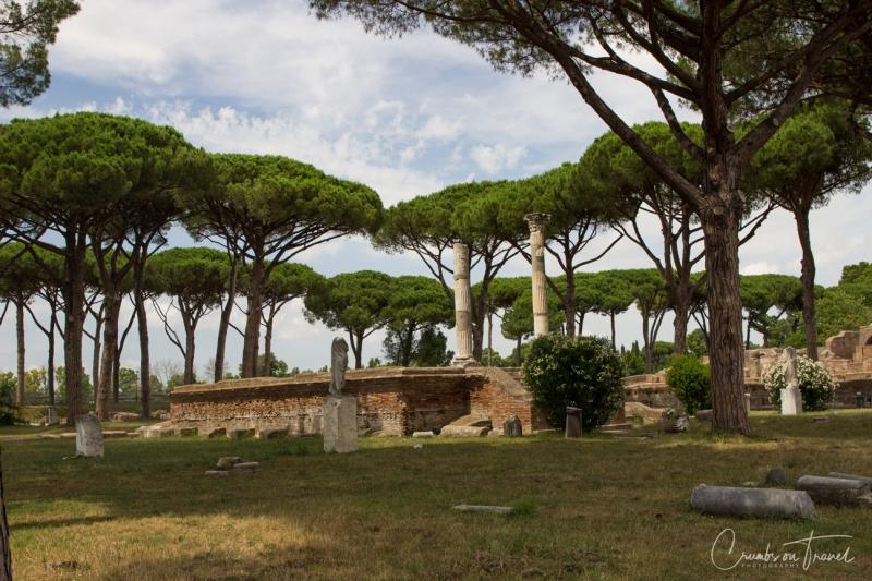 View, Ostia Antica, Lazio/Italy