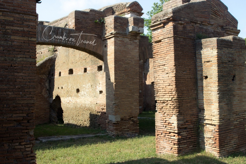 House, Ostia Antica, Lazio/Italy