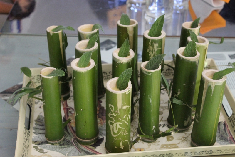 Bamboo beakers