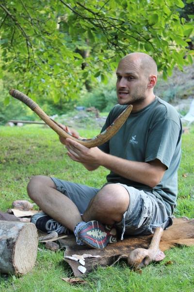 Prehistoric workshop: scythe