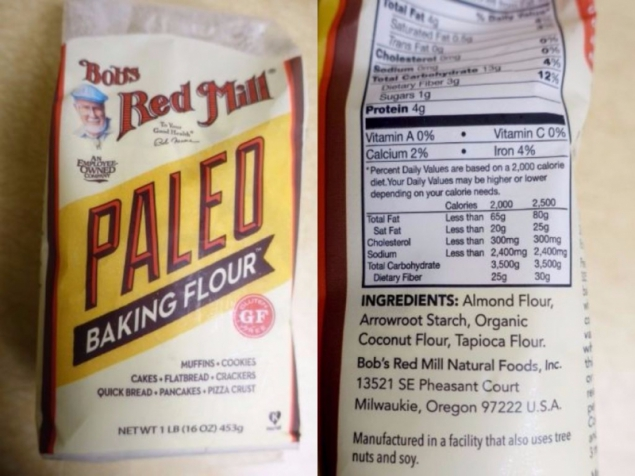 Paleo flour by Red Mill