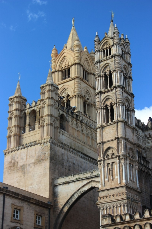 The cathedral of Palermo, Sicily/Italy