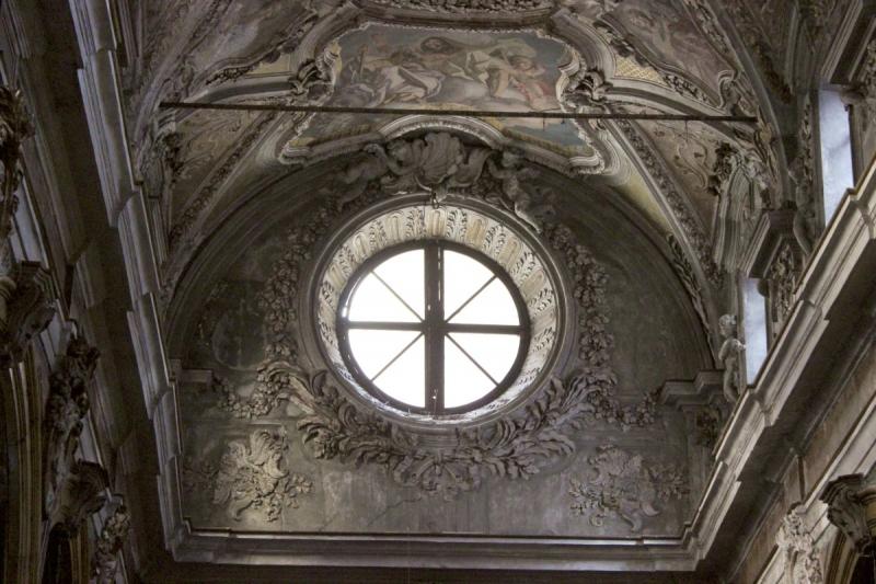 Inside the Church of Saint Matthew of Cassaro, Palermo, Sicily/Italy