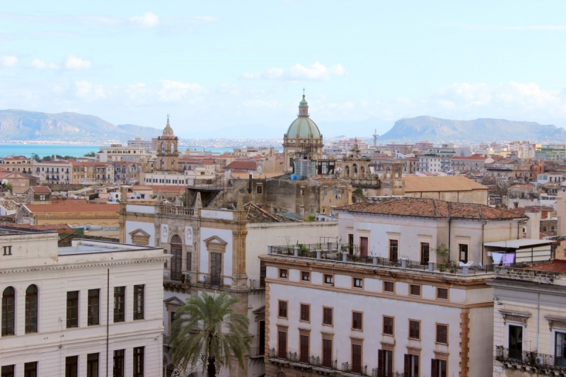 View from the Cathedral of Palermo, Sicily/Italy