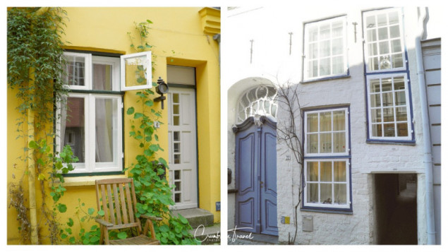 Impressions of Lübeck's back courtyards