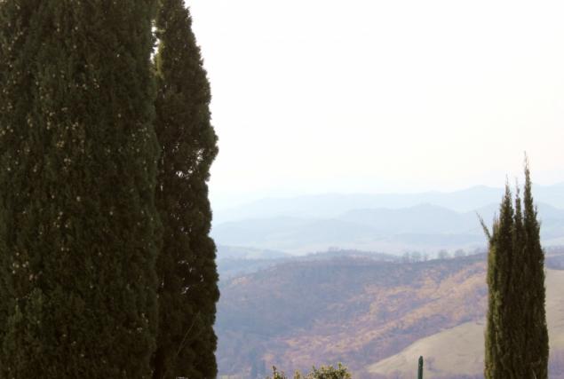 View from Peglio, Le Marche/Italy