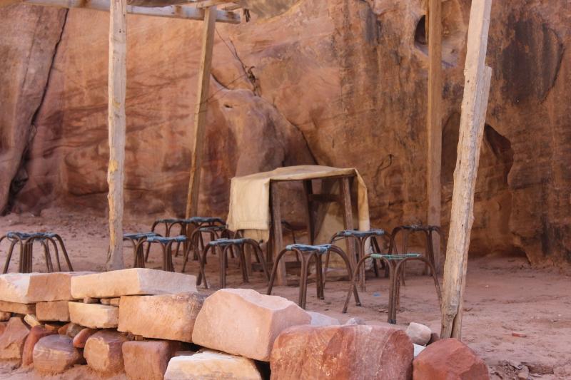 Bedouin cafeteria, Petra, Jordan