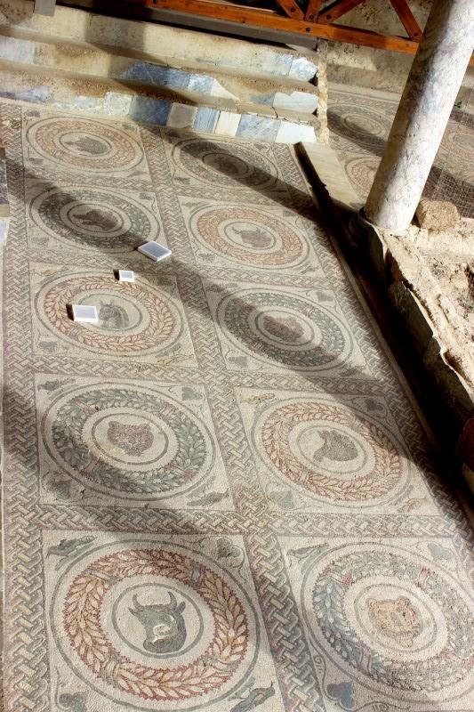 Mosaics in the Villa Romana del Casale, Piazza Armerina, Sicily/Italy