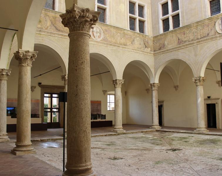 Palazzo Piccolomini, Pienza, Tuscany, Italy