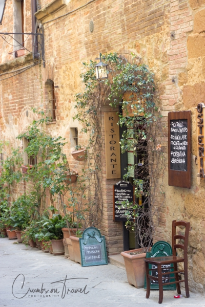 Street view in Pienza/Tuscany