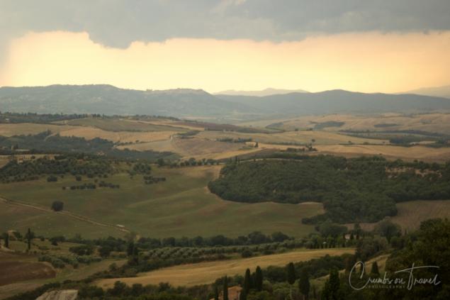 Landscape around Pienza/Tuscany