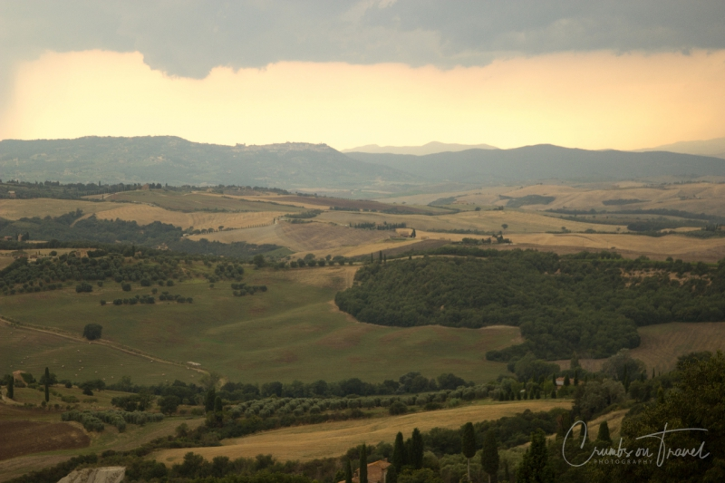 Landscape around Pienza/Tuscany