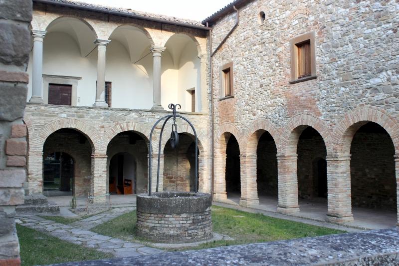 Pieve San Giovanni Battista at Carpegna, Marche/Italy