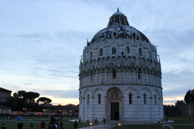 Baptistery, Square of Miracles, Pisa