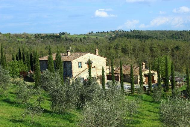 Podere Alberese, Asciano, Tuscany, Italy