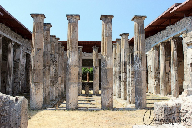 Excevations of Ancient Pompei, Campania/Italy