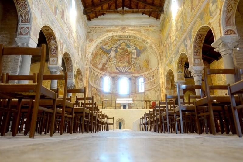Church, Pomposa, Ferrara, Emilia-Romagna/Italy