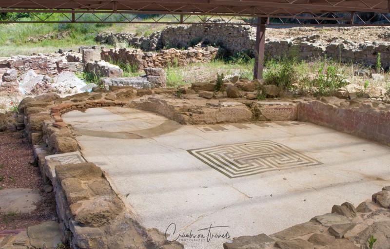 Mosaics in Populonia