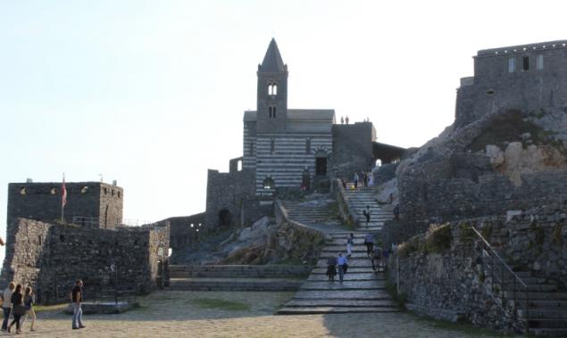 Church of St. Peter in Porto Venere, Italy