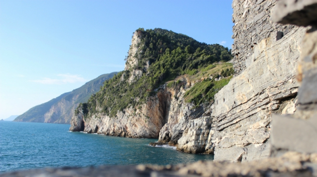 View on the Gulf of Poets in Porto Venere, Italy