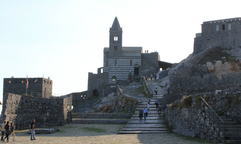 Church of St. Peter in Porto Venere, Italy