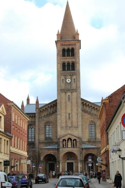 Church in Potsdam, Germany