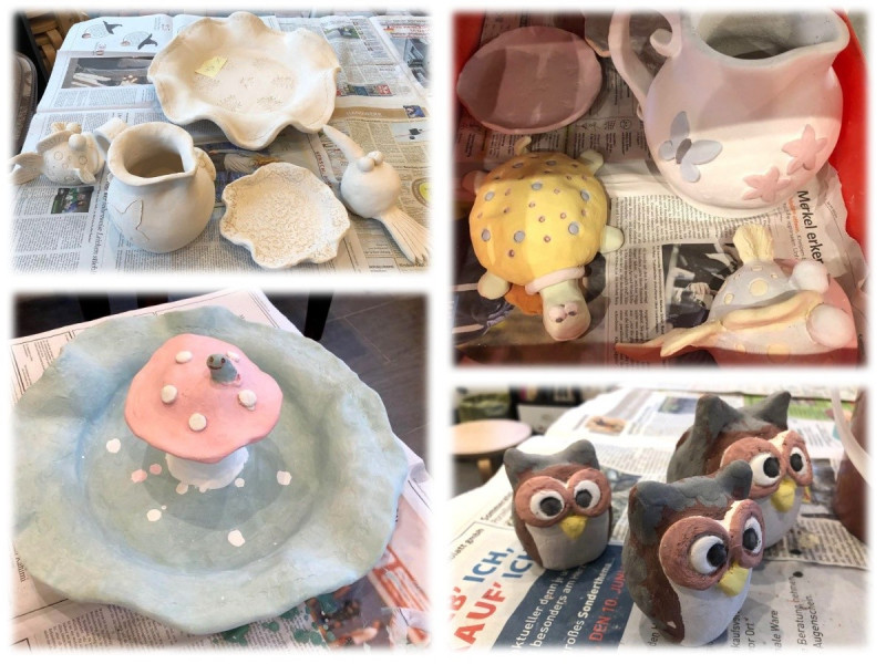 Pottery in preperation - smartphone upload