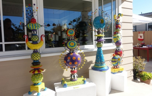 Pottery Art in San Diego, California/USA