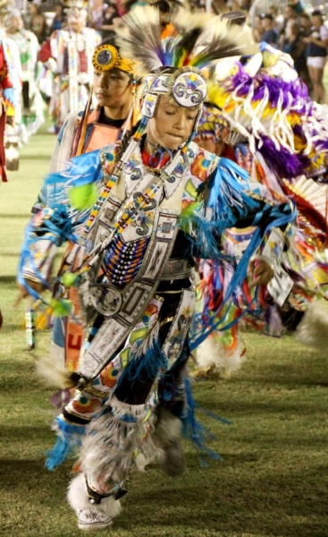 Pow wow, Barona Indian Reservation, California/USA