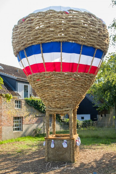 Fahren: Balloon - Strawfigures at the Probsteier Grain Days