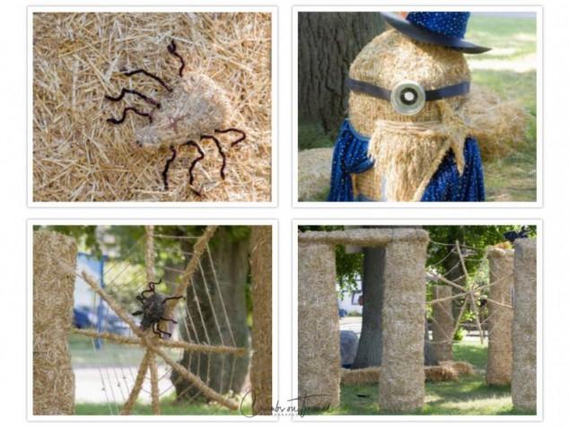 Fiefbergen: Strawhenge - Strawfigures at the Probsteier Grain Days