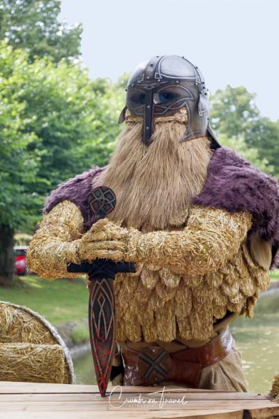 Stakendorf: Viking - Strawfigures at the Probsteier Grain Days