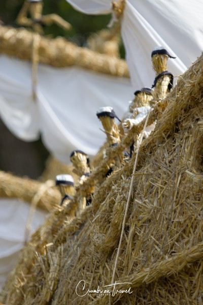 Bendfeld: Gorch Fock - Strawfigures at the Probsteier Grain Days