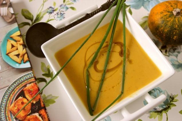 Pumpkin Coconut Soup