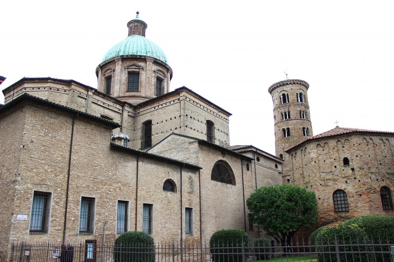 Basilica in Ravenna, Emilia-Romagna, Italy