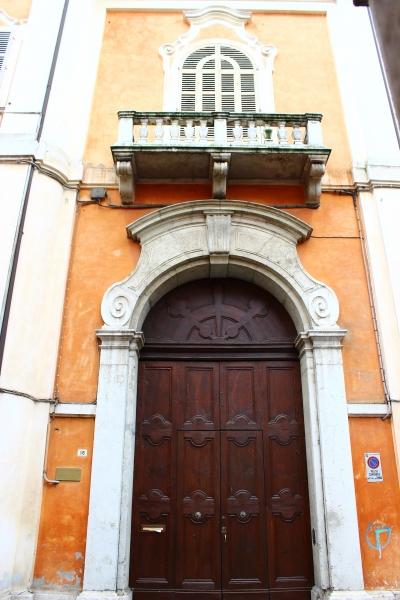 Door in Ravenna, Emilia-Romagna, Italy