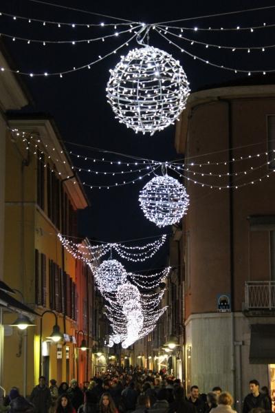 Ravenna by night, Emilia-Romagna, Italy