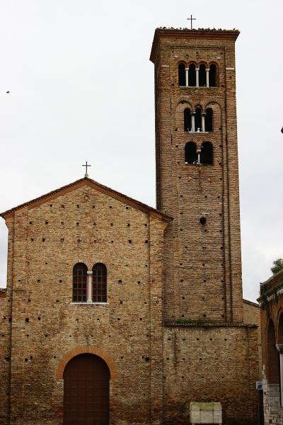 Church in Ravenna, Emilia-Romagna, Italy