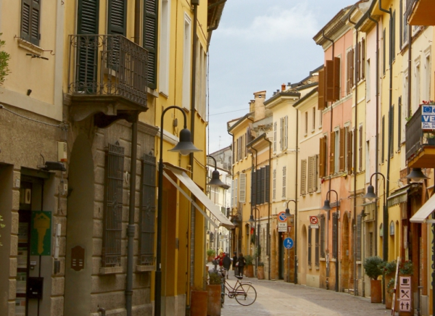 Street view, Ravenna, Emilia-Romagna, Italy