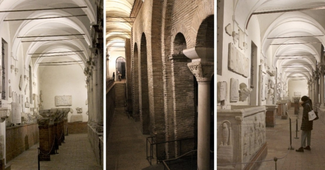 In the National Museum of Ravenna, Emilia-Romagna, Italy