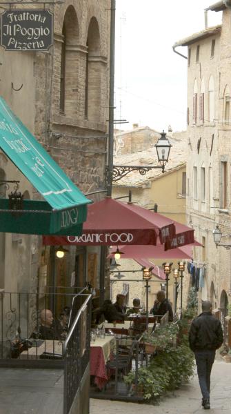 Restaurant Dioniso, Volterra, Tuscany, Italy