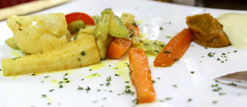 Restaurant Dioniso, starter, Volterra, Tuscany, Italy