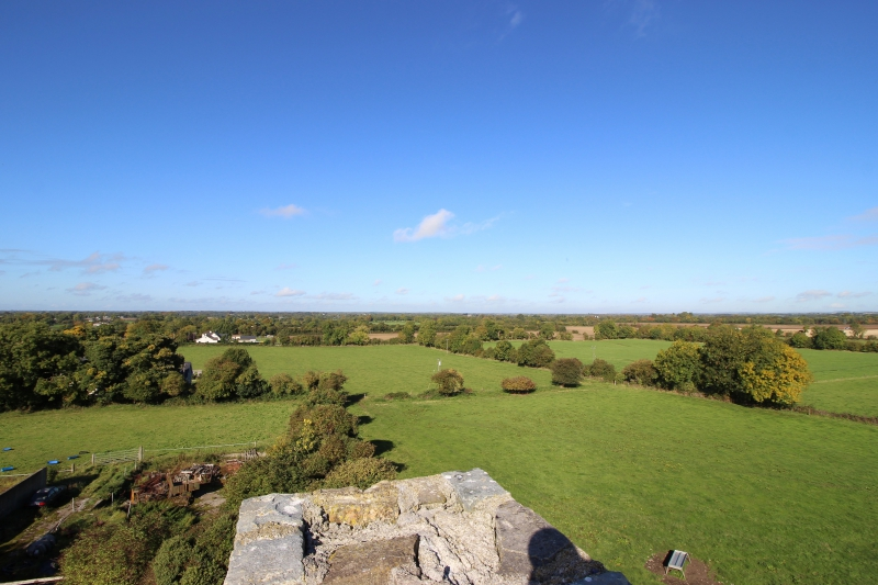 Viwe from Riverstown Castle/Killmessan, County Meath/Ireland