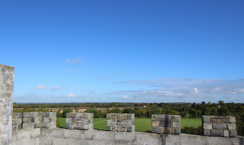 view from Riverstown Castle/Killmessan, County Meath/Ireland
