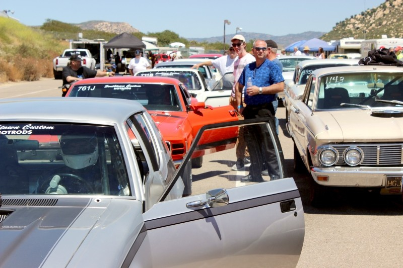 Barona antique drags car racing San Diego, Lakeside, California/USA