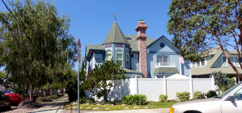 House at Coronado Island, San Diego, California/USA