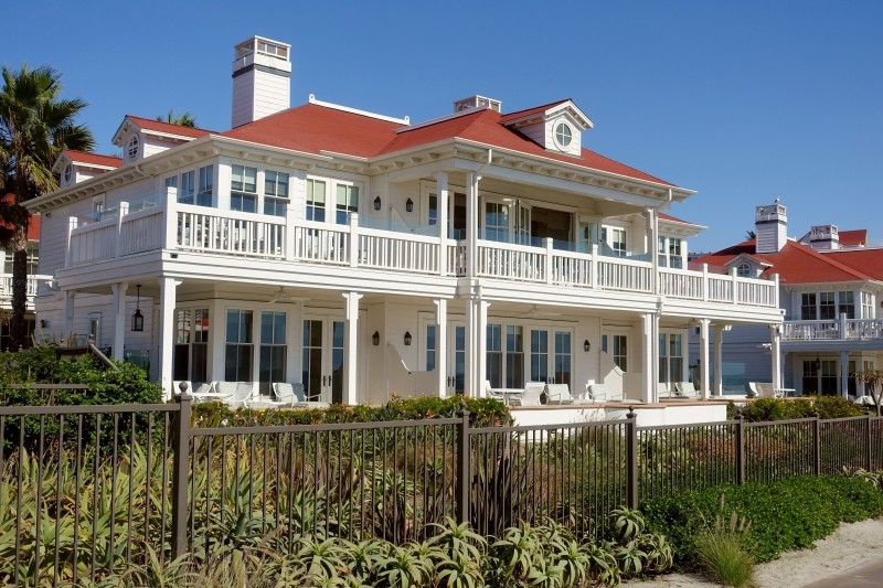 Hotel Coronado Island, San Diego, California/USA