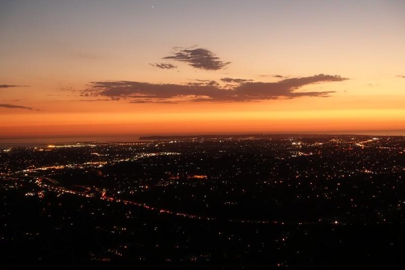 Sunset from Blacks Beach, San Diego, California/USA