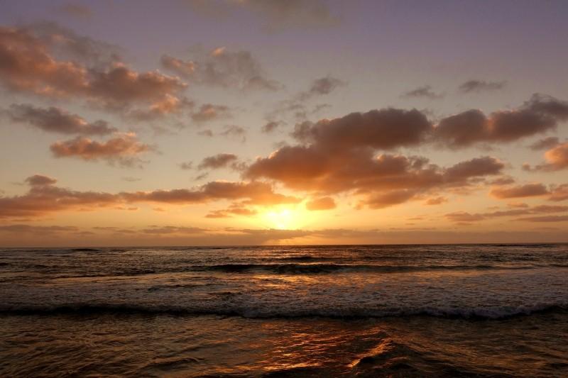 Sunset, San Diego, California/USA
